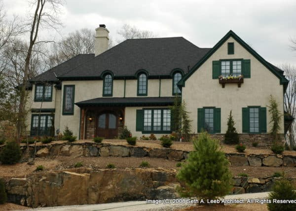 CUSTOM HOME ARCHITECTURE
