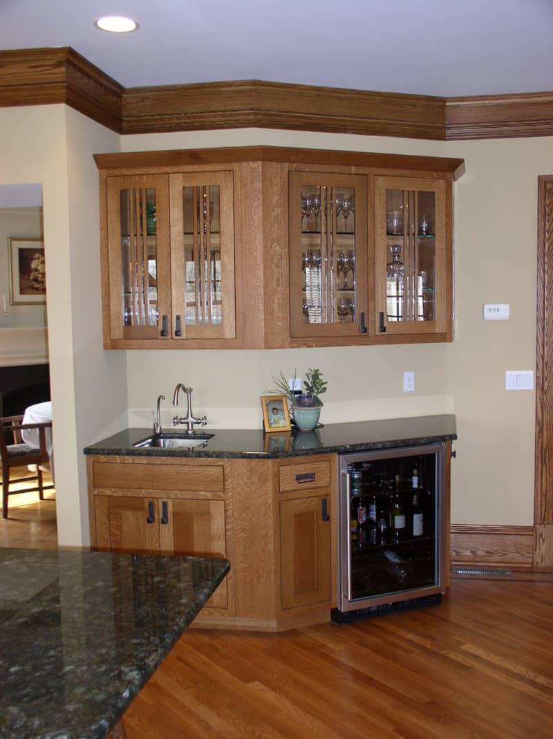 custom arts and crafts kitchen design