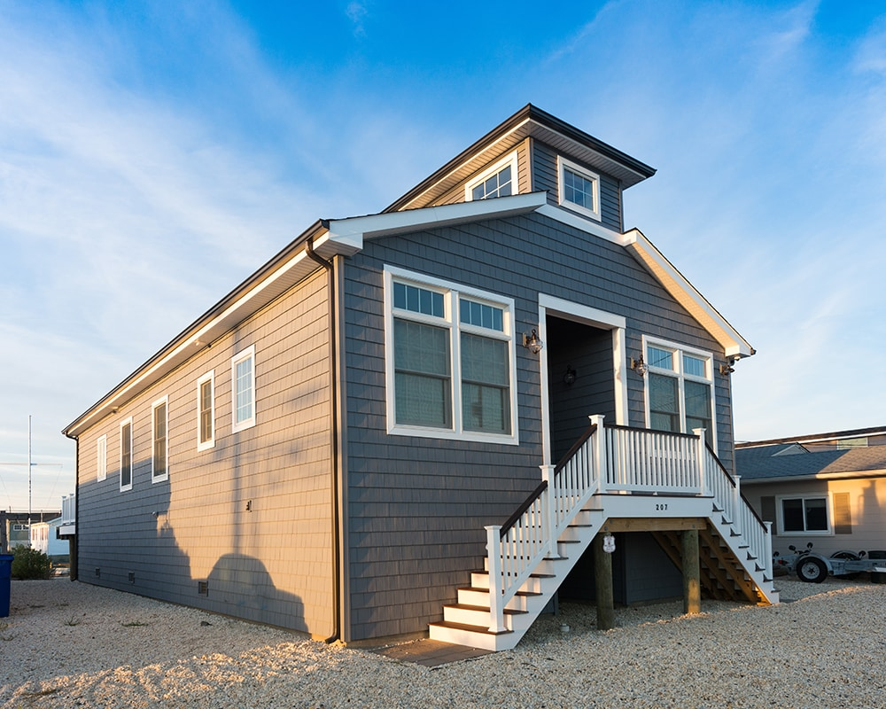 Custom Home Design Ocean Beach Leeb Architecture